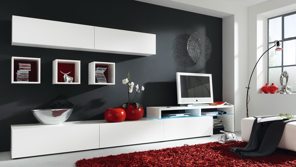 ... Weiße Möbel Schick Kombinieren