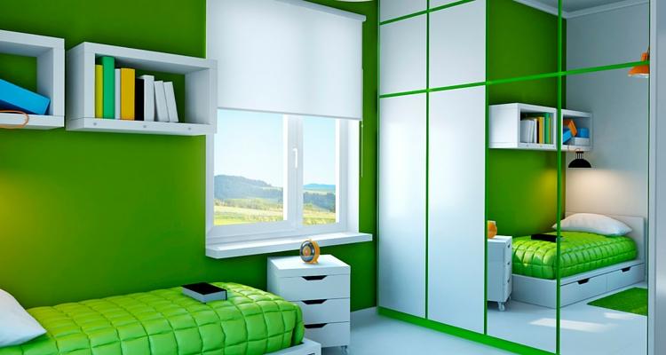 10 ideen wie sie kleine schlafzimmer einrichten. Black Bedroom Furniture Sets. Home Design Ideas