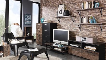 Wandgestaltung im Wohnzimmer: 10 inspirierende Ideen