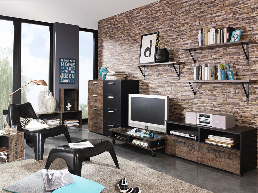 wandgestaltung mit stil 10 kreative ideen lifestyle4living blog. Black Bedroom Furniture Sets. Home Design Ideas