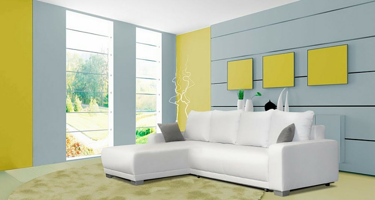 Toller Effekt: Wenn Sie Knallige Farben Und Weiße Möbel Kombinieren