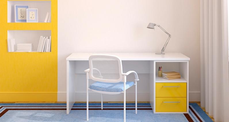 homeoffice richtig gestalten gemutlich, home office einrichten – 5 ideen bei platzmangel, Design ideen