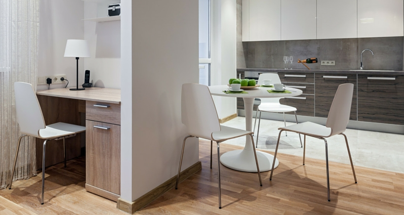 Home Office einrichten in der Küche