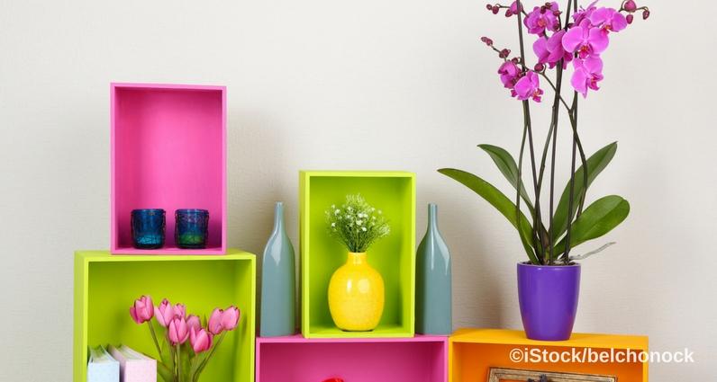 raffinierte blumendeko lifestyle4living. Black Bedroom Furniture Sets. Home Design Ideas