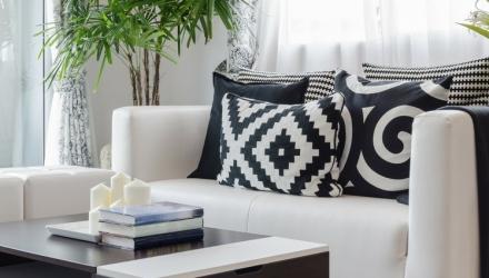 Grafische Muster: der neue Trend im Interior Design