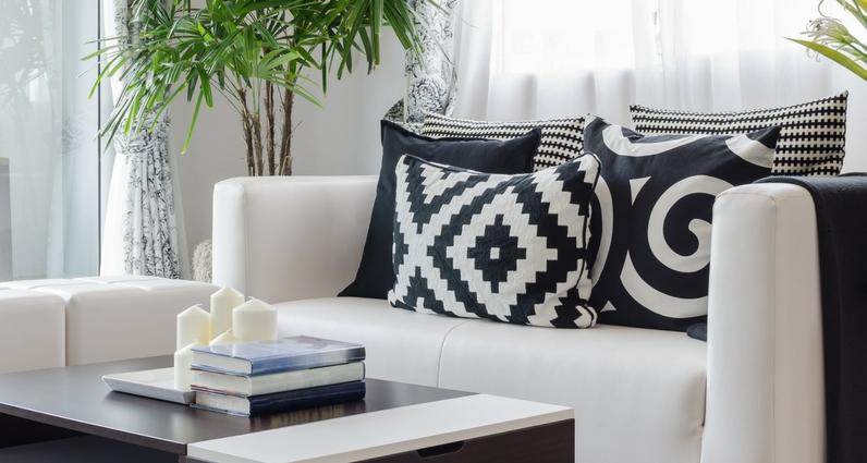 grafische muster der neue interior trend lifestyle4living blog. Black Bedroom Furniture Sets. Home Design Ideas