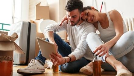 Zusammenziehen mit dem Partner – so klappt es