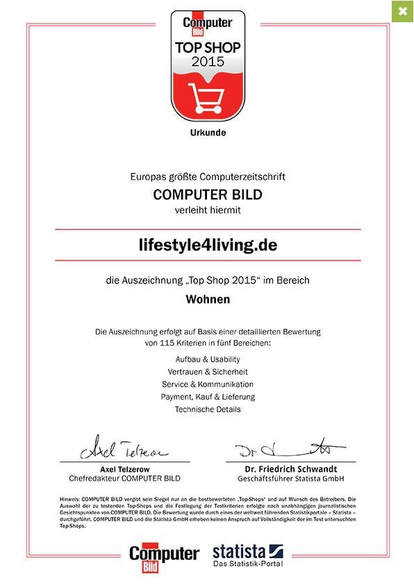 Computer BILD - Zertifikat
